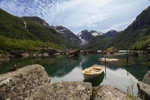 lago norvegese bondhus foto