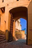 il forte ambrato, rajasthan, jaipur, india foto