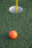 buca da golf foto