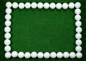 telaio da golf foto
