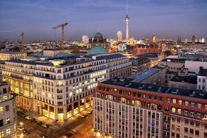 panorama di Berlino foto