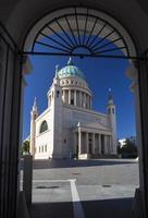 st. chiesa di nicholas (nikolaikirche), potsdam, germania foto