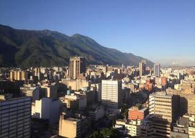 skyline di Caracas foto