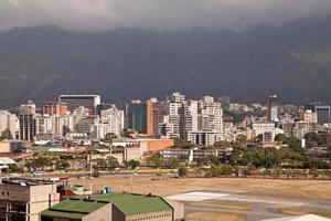 skyline di caracas. Venezuela foto