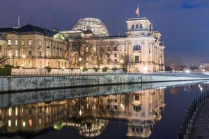 Berlino Reichstag e Paul-Löbe Haus foto