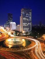 traffico notturno foto