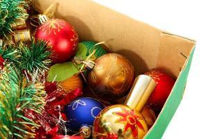 decorazione dell'albero di Natale foto