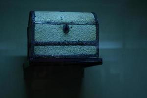 contenitore di gioielli isolato foto