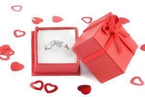 diamante di fidanzamento foto
