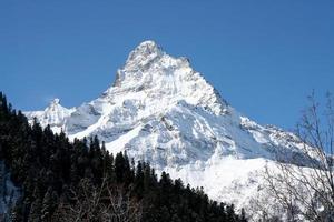 cima della montagna foto