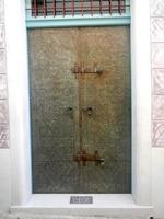 porta decorata foto