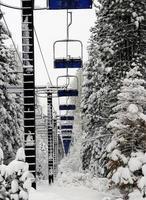 skilift vuoto foto