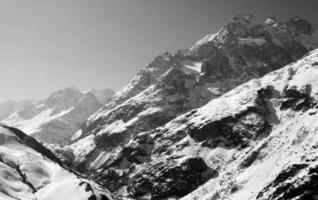 picchi di montagna foto