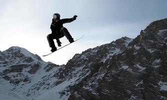sport di snowboard foto
