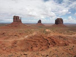 monument valley - guanti foto