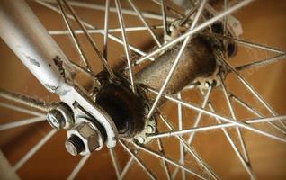 vecchia bicicletta foto