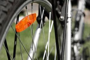 foto su un soggetto la bicicletta
