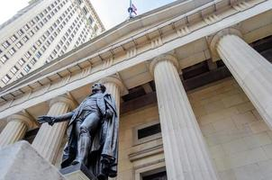 Federal Hall, New York City foto