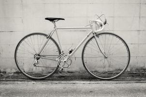 bicicletta da strada vintage foto