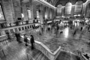 viste di New York City, Stati Uniti d'America. grande terminale centrale. foto