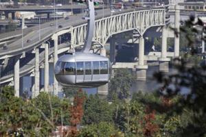 tram di Portland foto