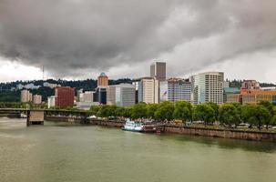 paesaggio urbano del centro di Portland