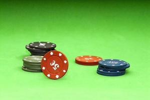 fiches per poker foto