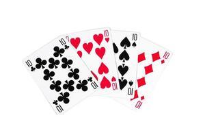 carte da poker foto