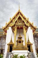 dusit maha prasat hall del trono, tempio di smeraldo buddha foto