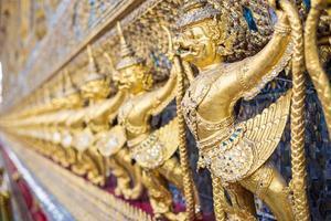 scultura di Garuda, Bangkok, Tailandia