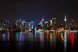 Midtown Manhattan dalla maglia foto