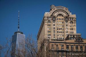 dettaglio di vista di New York City foto