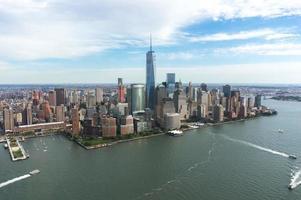 skyline di new york foto