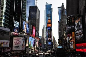 Times Square - New York, Stati Uniti d'America foto