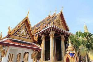 Wat Phra Kaew a Bangkok, in Thailandia foto