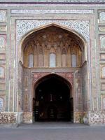 Moschea di Wazir Khan, Lahore, Pakistan foto