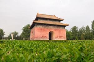 il mausoleo delle tombe ming foto