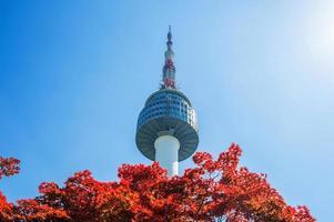 torre di Seoul foto