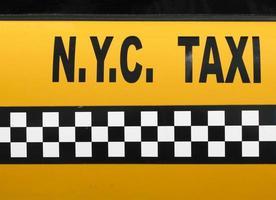 taxi di New York foto