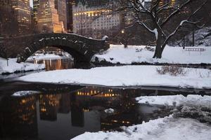 Central Park a New York City foto