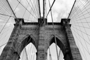 Ponte di Brooklyn, New York foto