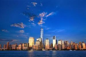 skyline di manhattan inferiore
