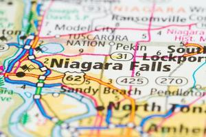 cascate del Niagara, New York foto