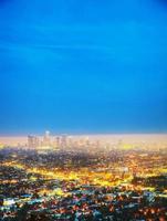 paesaggio urbano di Los Angeles foto