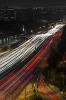 notte di San Diego autostrada senza pedaggio