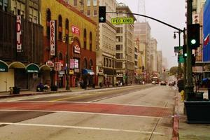 5th street downtown los angeles ca. foto
