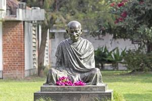 monumento di Mahatma Gandhi foto