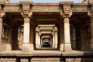 adalaj passo bene ad Ahmedabad, in India foto