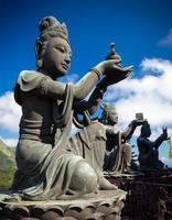 statua di Buddha foto