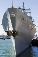 incrociatore missilistico guidato dalla marina americana uss monterey foto